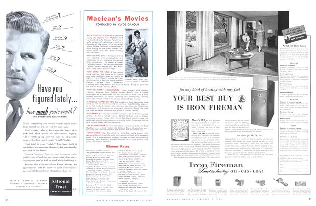Article Preview: Maclean's Movies, February 1954 | Maclean's