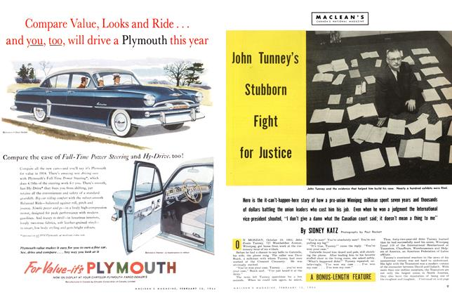 Article Preview: John Tunney's Stubborn Fight for Justice, February 1954 | Maclean's