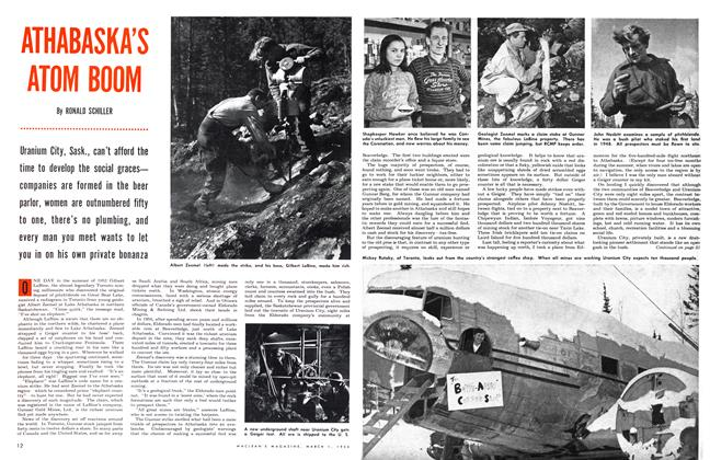 Article Preview: ATHABASKA'S ATOM BOOM, March 1954 | Maclean's