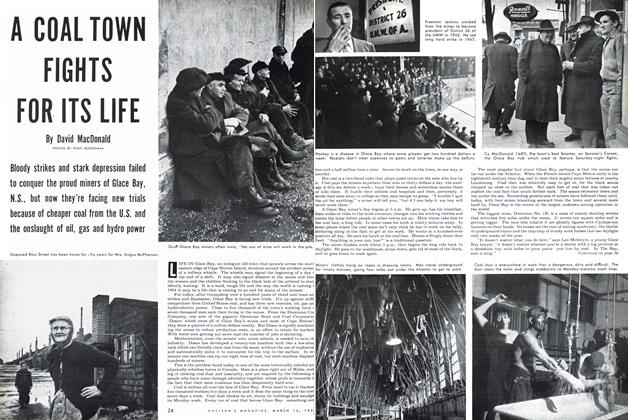 Article Preview: A COAL TOWN FIGHTS FOR ITS LIFE, March 1954 | Maclean's