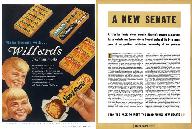 Article Preview: A NEW SENATE, April 1954 | Maclean's