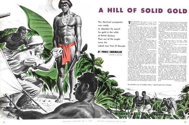 Article Preview: A HILL OF SOLID GOLD, May 1954 | Maclean's