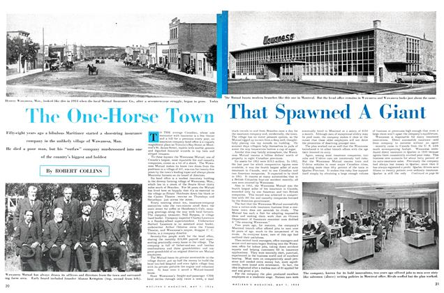 Article Preview: The One-Horse Town That Spawned A Giant, May 1954 | Maclean's