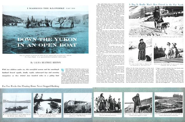 Article Preview: Down the Yukon in an Open Boat, May 1954 | Maclean's