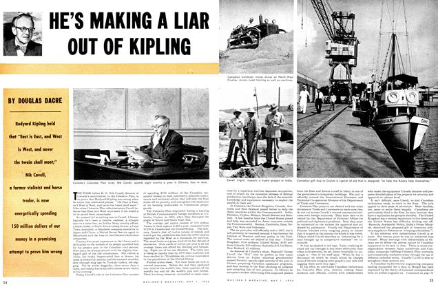 Article Preview: HE'S MAKING A LIAR OUT OF KIPLINGZ, May 1954 | Maclean's