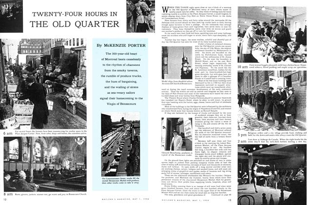 Article Preview: TWENTY-FOUR HOURS IN THE OLD QUARTER, May 1954 | Maclean's