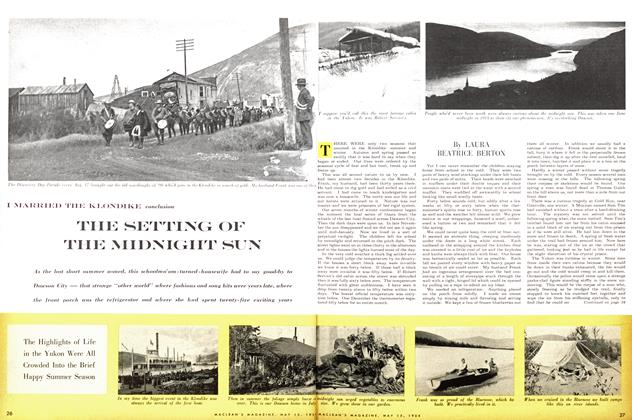 Article Preview: THE SETTING OF THE MIDNIGHT SUN, May 1954 | Maclean's