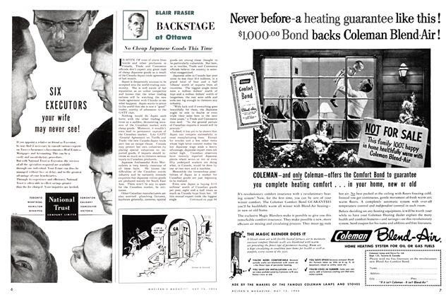 Article Preview: No Cheap Japanese Goods This Time, May 1954 | Maclean's