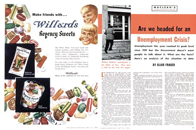 Article Preview: Are we headed for an Unemployment Crisis?, May 1954 | Maclean's