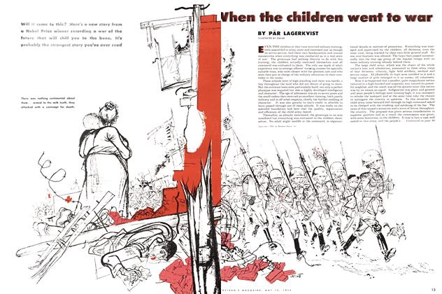 Article Preview: When the children went to war, May 1954 | Maclean's