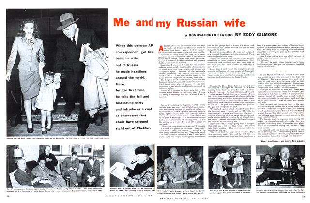 Article Preview: Me and my Russian wife, June 1954 | Maclean's