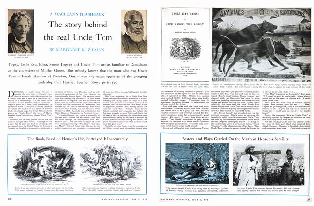 Article Preview: The story behind the real Uncle Tom, June 1954 | Maclean's