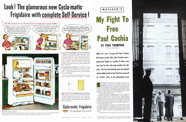 Article Preview: My Fight To Free Paul Cachia, June 1954 | Maclean's