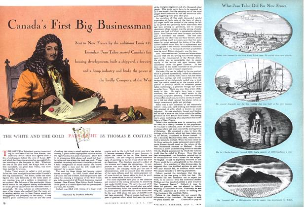 Article Preview: Canada's First Big Businessman, July 1954 | Maclean's