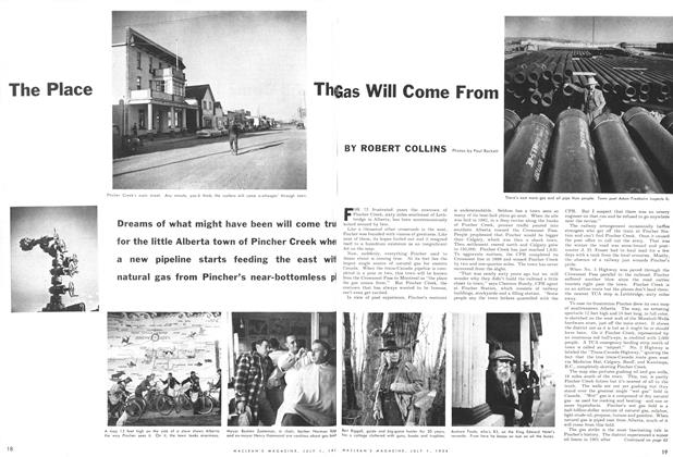 Article Preview: The Place The Gas Will Come From, July 1954 | Maclean's