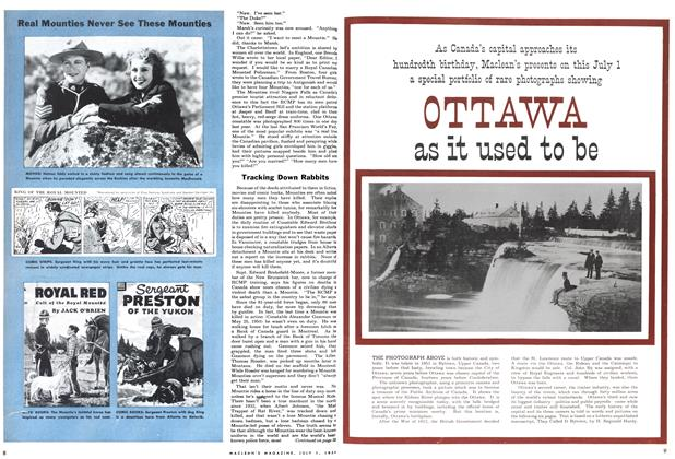 Article Preview: OTTAWA as it used to be, July 1954 | Maclean's
