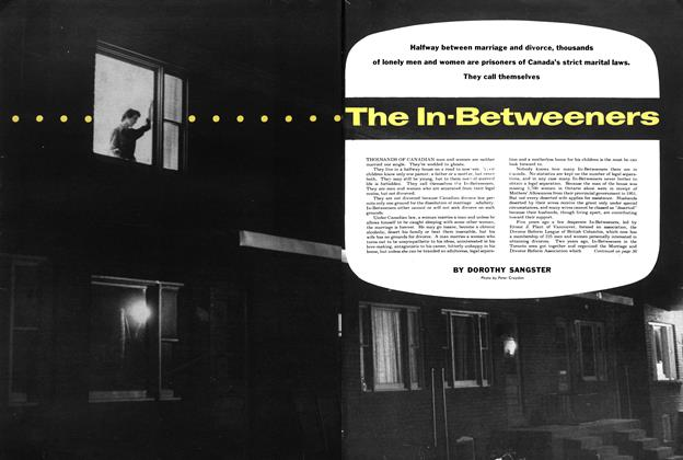 Article Preview: The In-Betweeners, July 1954 | Maclean's