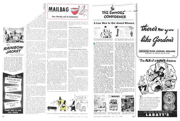 Article Preview: Hero Worship and Ex-Communists, July 1954 | Maclean's
