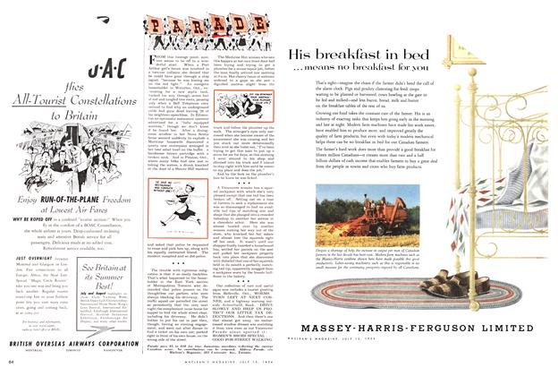 Article Preview: PARADE, July 1954 | Maclean's