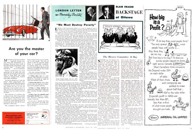 Article Preview: The Divorce Committee At Bay, July 1954 | Maclean's