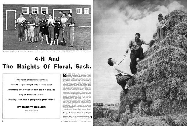 Article Preview: 4-H And The Haights Of Floral, Sask., July 1954 | Maclean's