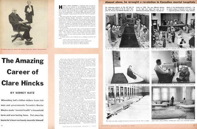 Article Preview: The Amazing Career of Clare Hincks, August 1954 | Maclean's