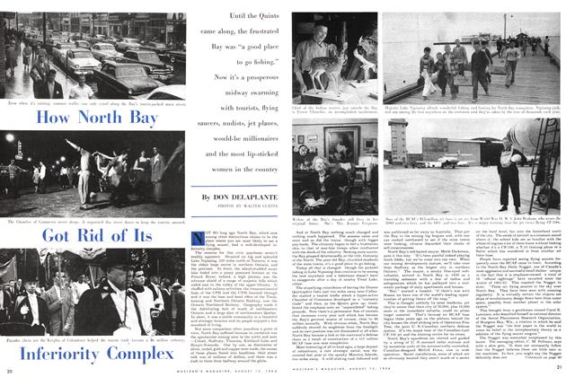 Article Preview: How North Bay Got Rid of Its Inferiority Complex, August 1954 | Maclean's