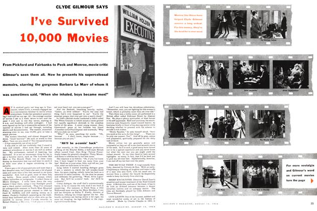 Article Preview: I've Survived 10,000 Movies, August 1954 | Maclean's