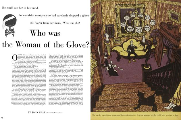 Article Preview: Who was the Woman of the Glove?, August 1954 | Maclean's