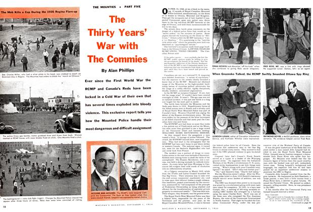 Article Preview: The Thirty Years' War with The Commies, September 1954 | Maclean's