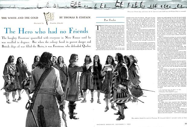 Article Preview: The Hero who had no Friends, September 1954 | Maclean's
