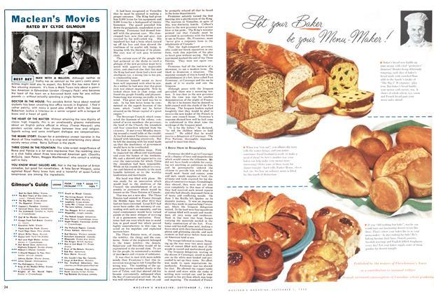 Article Preview: Maclean's Movies, September 1954 | Maclean's
