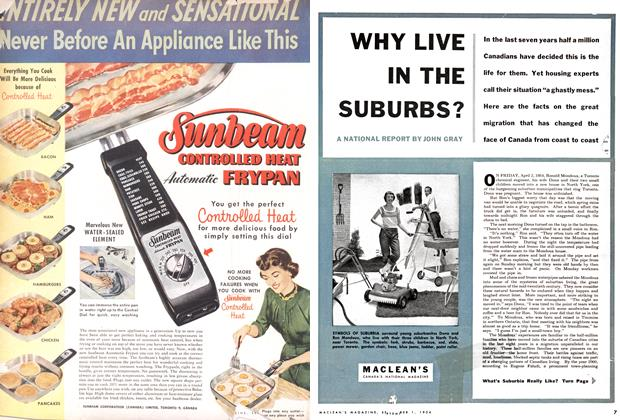 Article Preview: WHY LIVE IN THE SUBURBS?, September 1954 | Maclean's