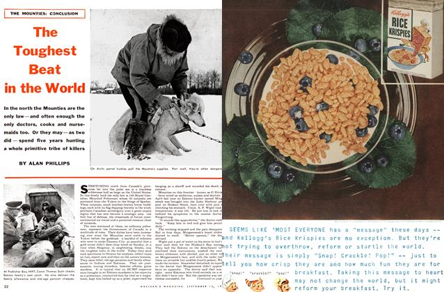 Article Preview: The Toughest Beat in the World, September 1954 | Maclean's