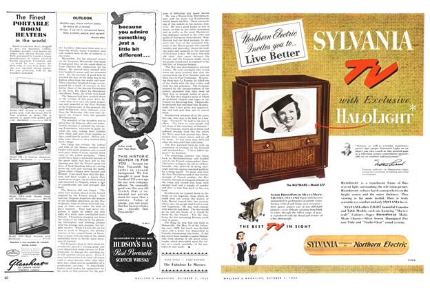 Article Preview: OUTLOOK, October 1954 | Maclean's