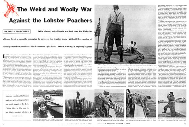 Article Preview: The Weird and Woolly War Against the Lobster Poachers, October 1954 | Maclean's