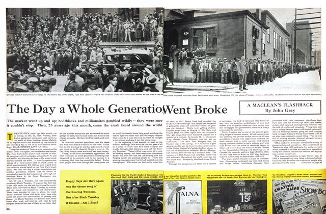Article Preview: The Day a Whole Generation Went Broke, October 1954 | Maclean's