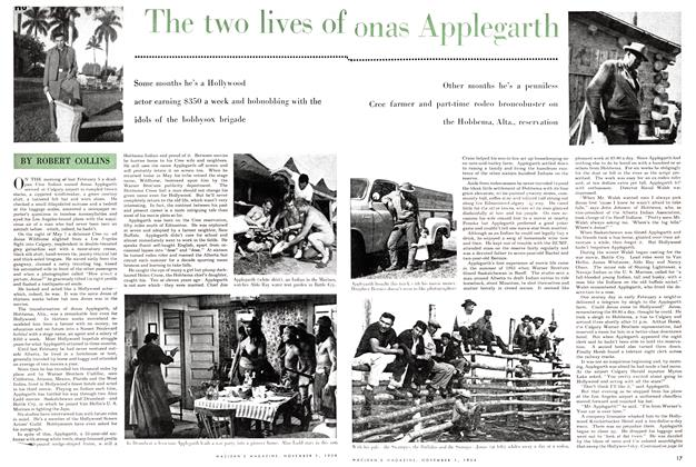 Article Preview: The two lives of JONAS APPLEGARTH, November 1954 | Maclean's