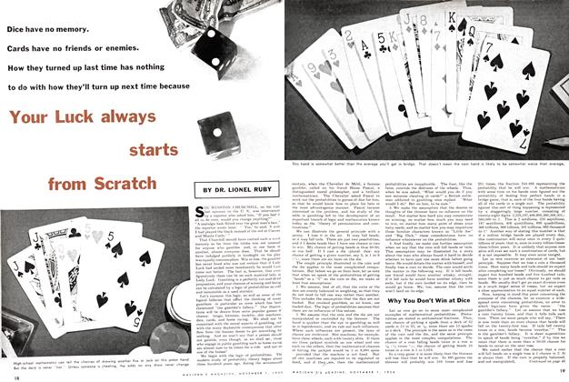 Article Preview: Your Luck always starts from Scratch, November 1954 | Maclean's