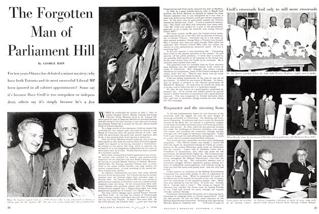 Article Preview: The Forgotten Man of Parliament Hill, November 1954 | Maclean's