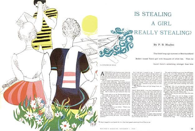 Article Preview: IS STEALING A GIRL REALLY STEALING?, November 1954 | Maclean's