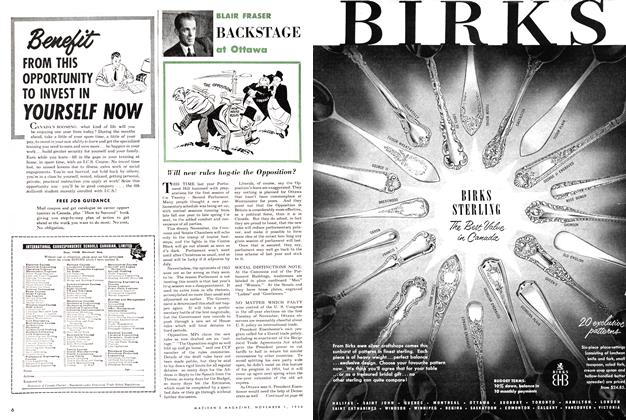 Article Preview: Will new rules hog-tie the Opposition ?, November 1954 | Maclean's