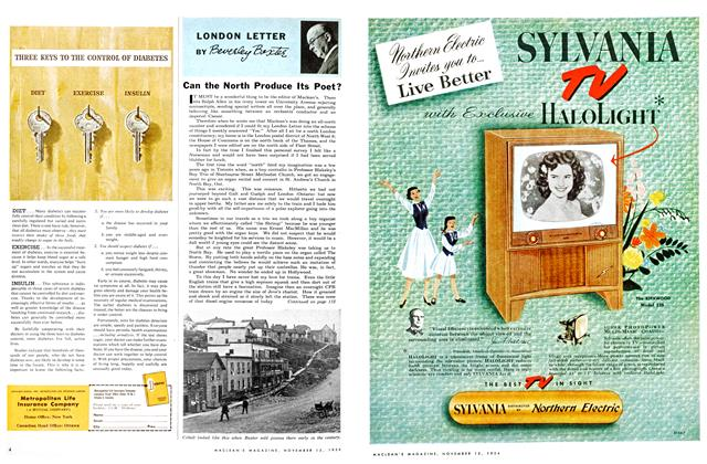 Article Preview: LONDON LETTER, November 1954 | Maclean's