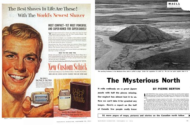 Article Preview: The Mysterious North, November 1954 | Maclean's