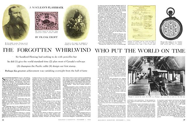 Article Preview: THE FORGOTTEN WHIRLWIND WHO PUT THE WORLD ON TIME, December 1954 | Maclean's