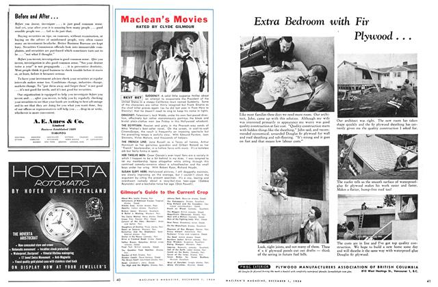 Article Preview: Maclean's Movies, December 1954 | Maclean's