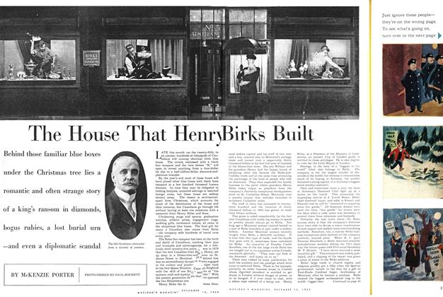 Article Preview: The House That Henry Birks Built, December 1954 | Maclean's