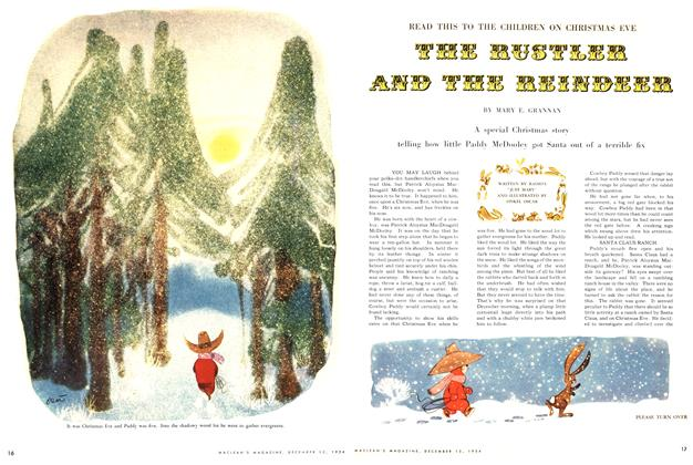 Article Preview: THE RUSTLER AND THE REINDEER, December 1954 | Maclean's