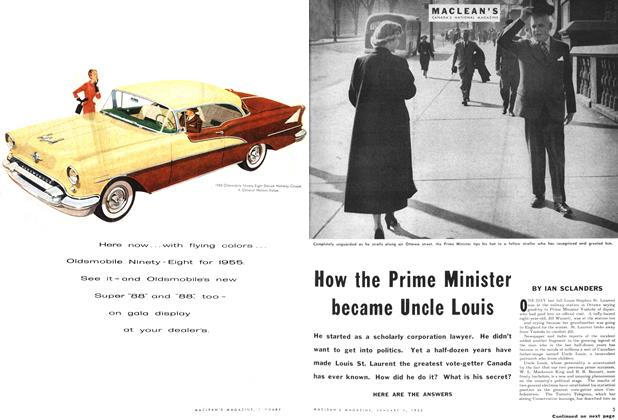 Article Preview: How the Prime Minister became Uncle Louis, January 1955 | Maclean's