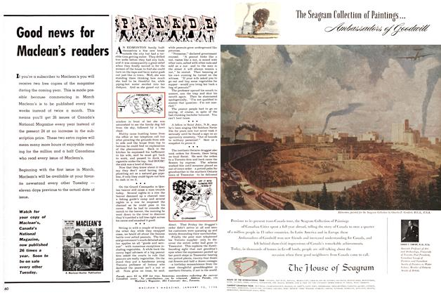 Article Preview: PARADE, January 1955 | Maclean's